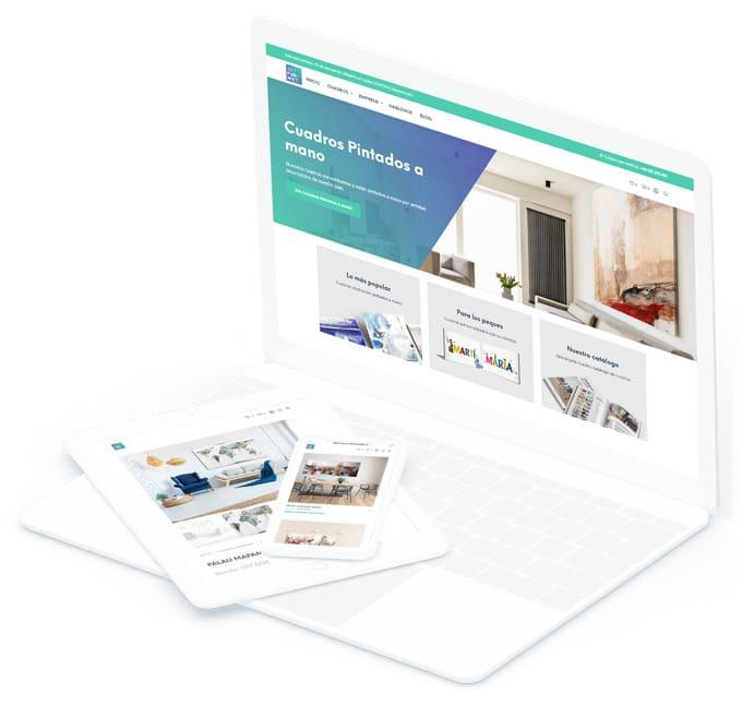 Diseño de páginas web portátil